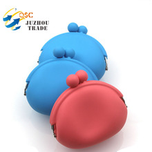 Best Selling Fashion Candy Color Silicone Coin Wallet