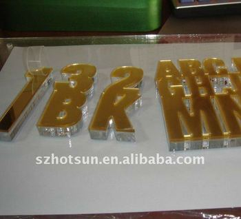 Cusotmize Acrylic Cutting Words Laser Acrylic Letters