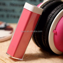 Christmas gift 2600mAh Lipstick power bank mini battery charger