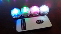 led battery operated remote control light with 10 super bright LED lights for decoration