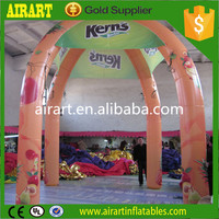 inflatable cabin tent 4 legs Promotional spider inflatable tent/event cross tent