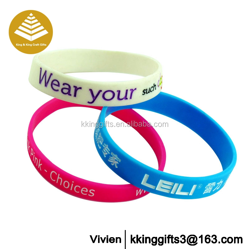 Good selling1!!!silicone wristbands for events / cheap silicone wristbands china for events