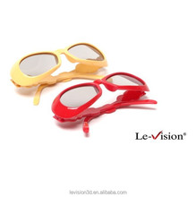 Polarized Kids 3D Movie Glasses/Cute 3D Circular Glasses for Cinema, TV, PC/ Bulk Low Cost 3D Glasses