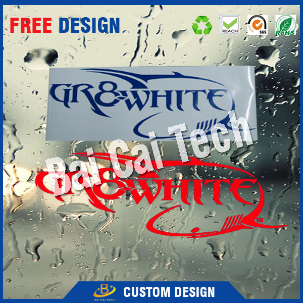 Printing Graphics Custom Car Decal Sticker for Decorative