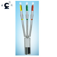 6kV-15kV cold shrink three core indoor cable termination kits