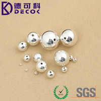 Stainless Steel Round Solid Bead 6mm