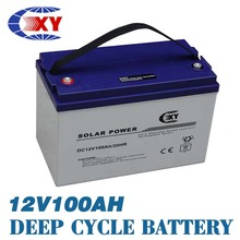 12v100ah Maintain Free Solar Energy Ups Battery