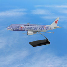 wholesale airplane crafts china resin model kit for selling