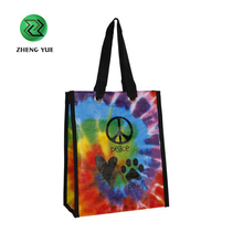 China Manufacturer Custom Printed Shopping Recycled PP Woven Bag