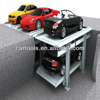 Vertical residential area garage parking project RP7004