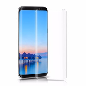 Hot Sell 3D Curved Nano Liquid Screen Protector For Samsung galaxy S8, 0.3mm Screen Protector