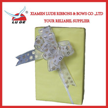 wholesale Printed Organza Pull Bows for gift packing