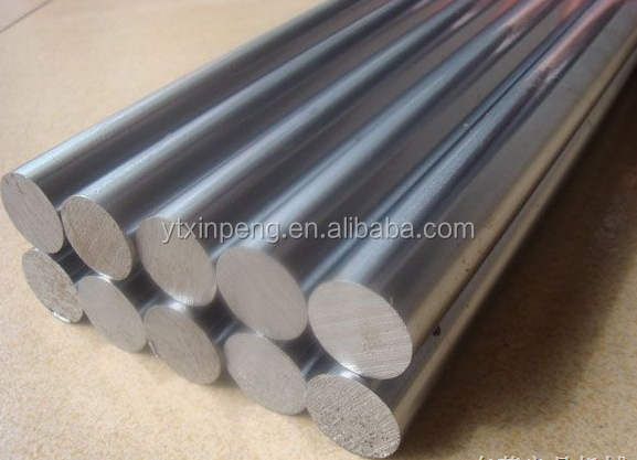 Ck45 chromed plated piston rod for hydraulic cylinder