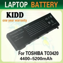 Replacement Laptop Battery for Toshiba PA3450U-1BRS for Satellite ProL10 L20 L100 PABAS059 PA3420U-1BRS Laptop Battery Pack