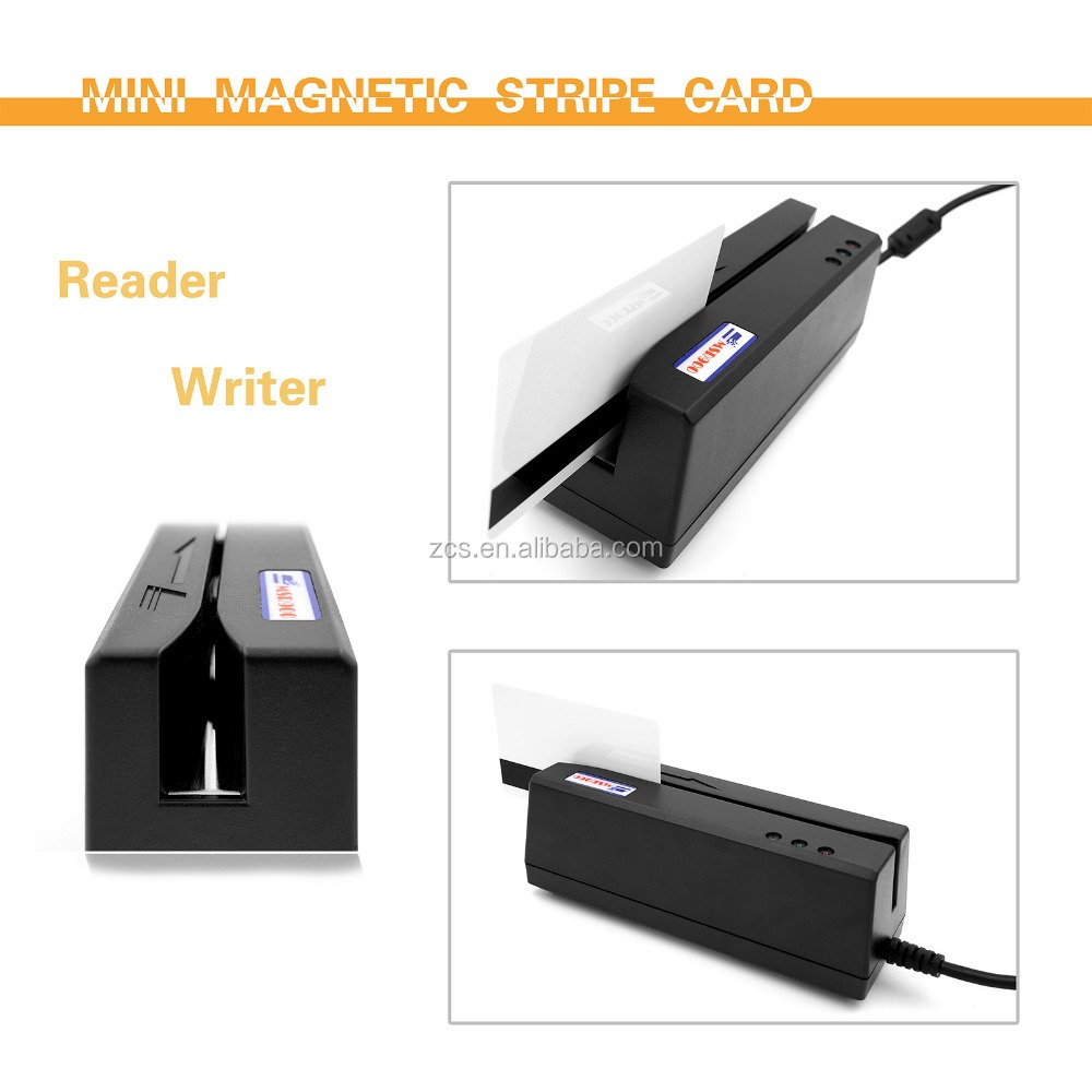3 Track Magnetic Stripe card reader & writer, perfect matched with MSR206