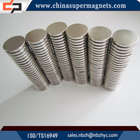 Super Strong Sintered Customized Industrial high quality half round neodymium magnet