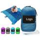 Custom Compact outdoor Camping Sand Proof Parachute Nylon Beach Blanket