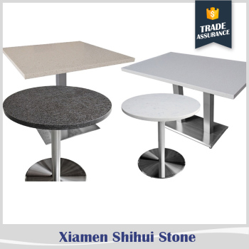Wholesale artificial quartz stone top dining tables top for Quartz top dining table