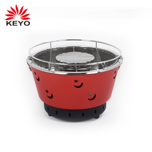 Portable Smokeless Charcoal BBQ Barbecue Grill for Indoor&Outdoor