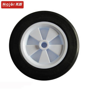 Garden cart wheel 8inch solid rubber tire for toy