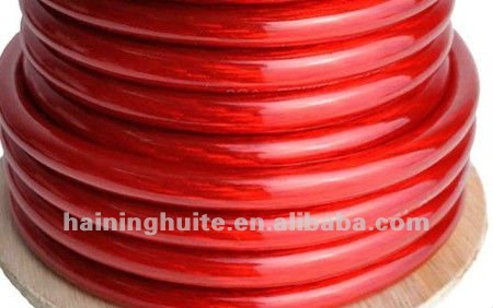 0 Gauge 50 Ft Ground Power Wire Cable -Red