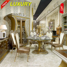 TYX606A-luxury royal dining room furniture antique dining table sets