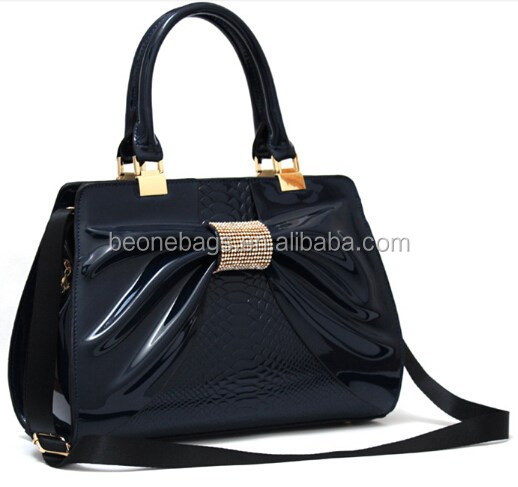 Online Ladys Handbag Wholesale Alibaba Patent Leather European Tote Bag