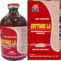 Erythromycin 10% L.A injection for Animal Use