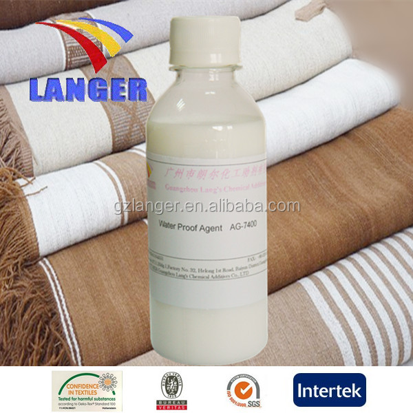 fabric water proof textile auxiliary finishing agent