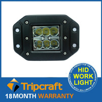 18W Led working light,flood beam 18W work light,auto led working light waterproof
