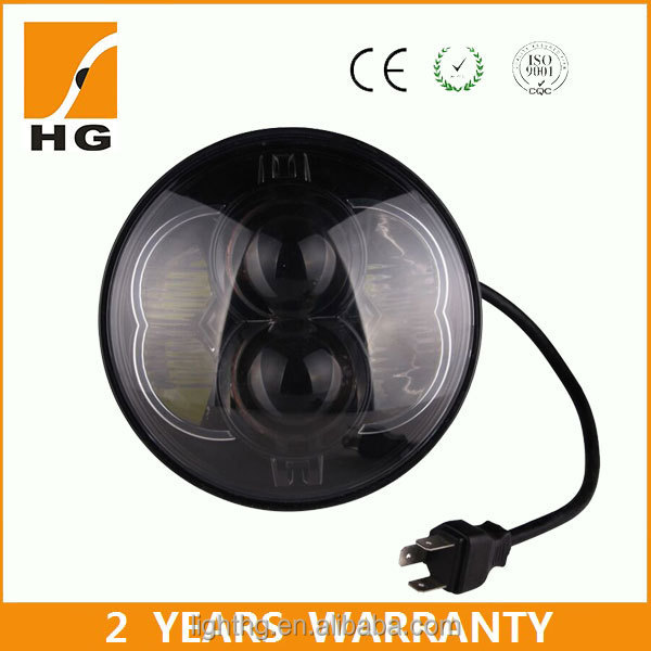 Hotest 5.75inch 48w landrover defender led headlight projector e-mark 5 3/4 motorcycle led h7 headlight