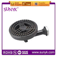 cast iron burner/cast iron prices per kg for heavy duty gas range