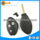 Techtiumkey New Soft Citroen C5 Repalcement Remote Key 3 Button Rubber Pad