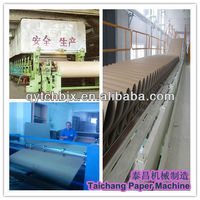 Taichang 2880mm White Board or Grey Board Recycle Paper Making Machine