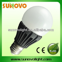 hot sale 270degree 8W 9w smd5630 led candle bulb