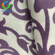 100% Polypropylene Material Printed 50gsm Spunbond Nonwoven Fabric For Nonwoven Bag