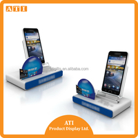 Durable Showhi smart Mobile phone exhibition display stand in retail store