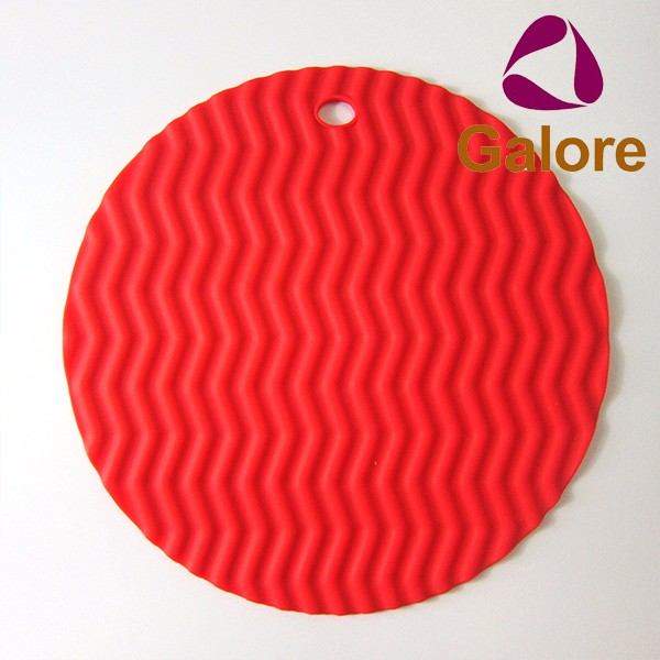 Rubber Place Mat Custom Made Heat Resistent Silicon Table Mat