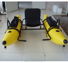 cheap small inflatable plastic catamaran 2-person 4-person rowing boats with price for sale