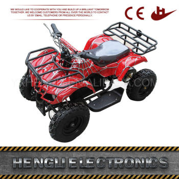 High quality 4x4 36v automatic kids quad bikes