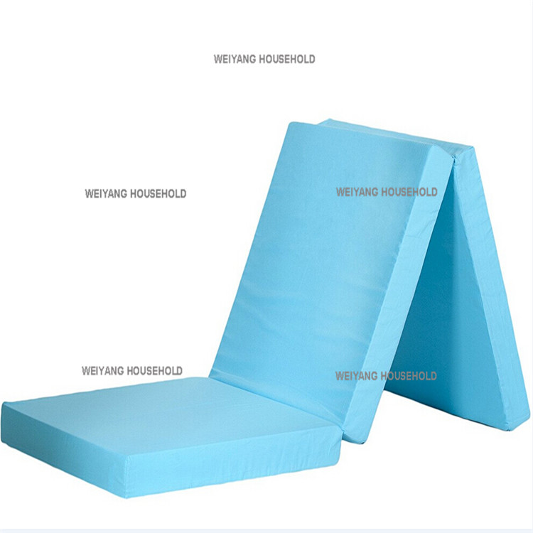 Chinese factory cheap travel foldable sponge mattress foam pad