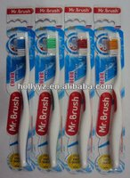 2013 high quality dental denture adult nylon toothbrush