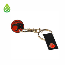 Promotional Supermarket Trolley Coin Keyring
