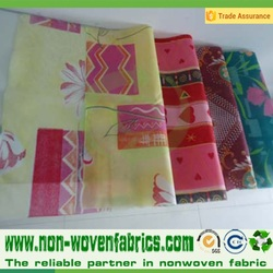 printed nonwoven fabric with different pictures