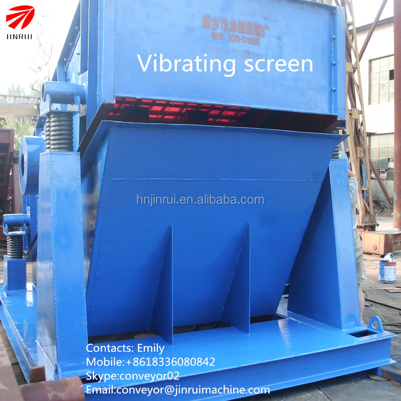YK/YA vibrating screen vibrating equipment gold trommel screen