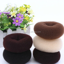 Women Type Custom Salon Hair Bun Nylon Hair Donuts