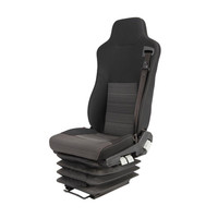 Hot Sale Auto Bus Truck Driver Seat With Air Suspension High Quality
