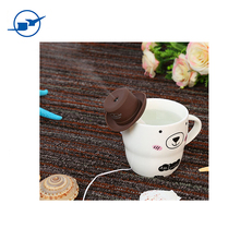 Cowboy Cap USB Mini Portable Humidifier Water Bottle Essential Oil Diffuser Aromatherapy Mist Maker For Office Home