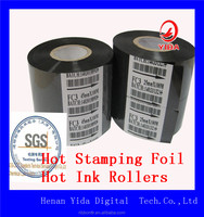 High Quality Wax Barcode carbon ribbon with high competitive price hot stamping foils 25mm*122m