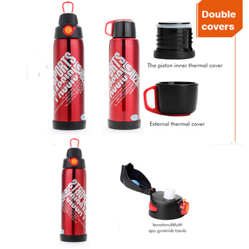 Household item standard mouth stainless bottle insulated steel coffee thermos